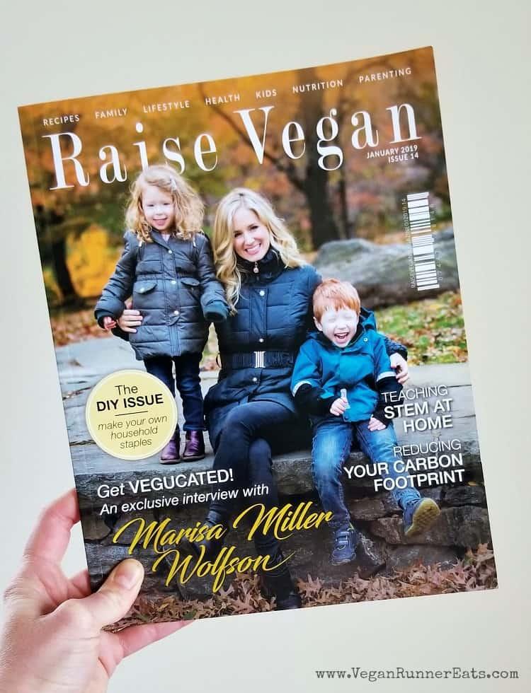 Raise Vegan magazine for parents of vegan kids from a list of 20+ vegan parenting resources