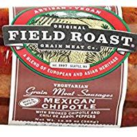 Field Roast Vegetarian Mexican Chipotle Sausage 13 Oz (4 Pack)