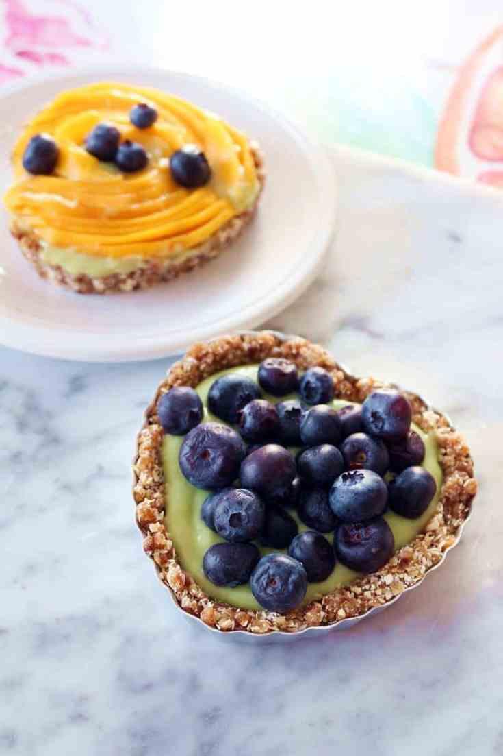 Blueberry-Mango Tarts