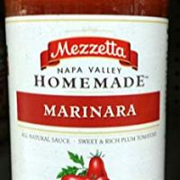 Mezzetta Napa Valley Homemade Marinara Sauce 24.5 Oz (Pack of 2)