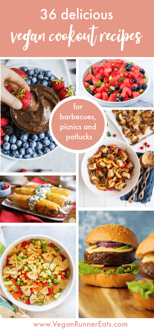 Vegan Summer Recipes for barbecue parties, potlucks and picnics