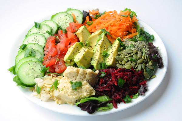 Quinoia salat
