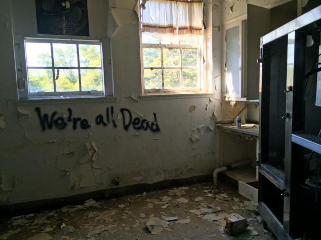 Exploring Nassau County Sanitorium, abandoned Tuberculosis hospital