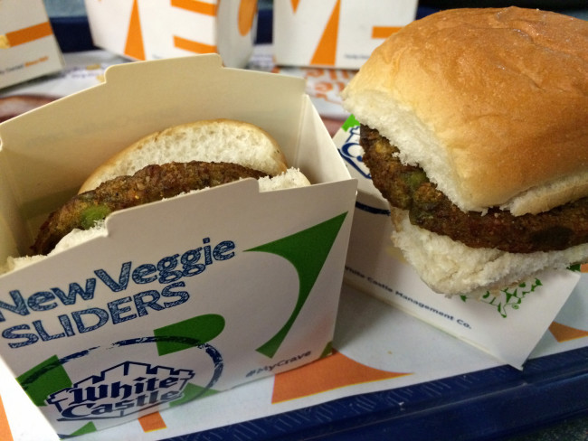 Is White Castle's Veggie Slider Vegan?