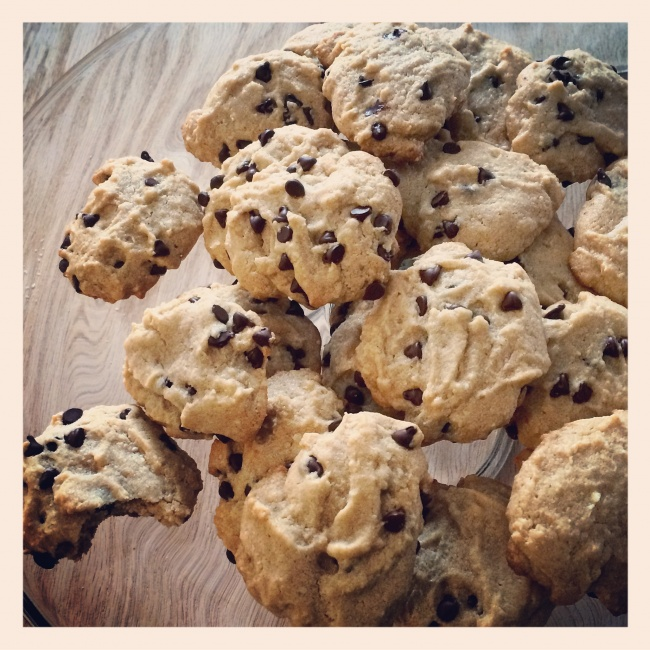 Delicious Vegan Gluten-free Chocolate Chip Cookies