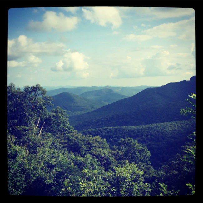 On V.V. Summer Assignment, Day 4: Bluegrass to the Blue Ridge