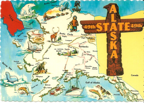 The 49th State is My 49th State; <i>V.V.</i> Takes Alaska