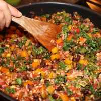Vegan Tex-Mex n' Mango Casserole