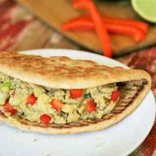 Crunchy Chickpea Salad Sandwich
