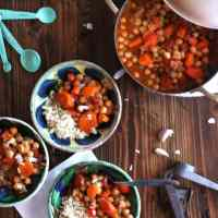 Savory Garbanzo Bean Vegan Stew