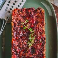 Savory Vegan Lentil Loaf (GF, WFPB)
