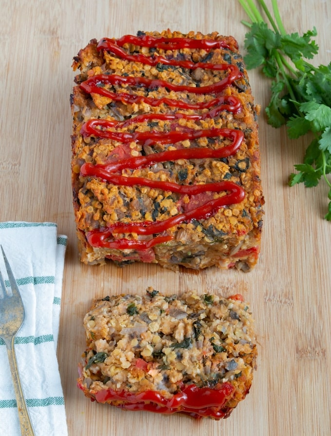 Vegan Alternatives to Turkey - Vegan Lentil Oat Loaf
