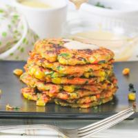 Easy Vegan Vegetable Fritters