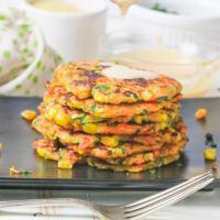 Easy Vegan Vegetable Fritters