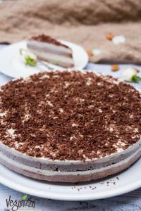 "Tort raw cioco-vanilie ""Duo"" | Veganzza.ro"