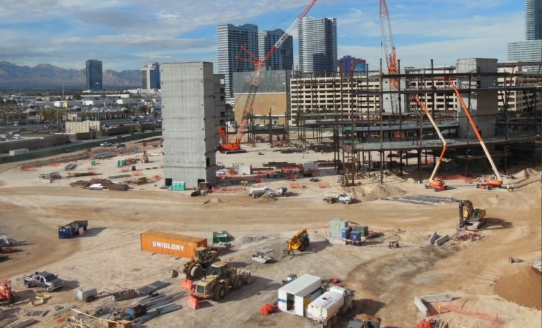Las Vegas Arena Construction