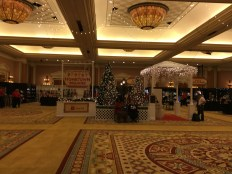 The view immediately upon entering the ballroom