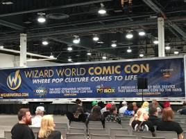 The full Wizard World Comic Con logo