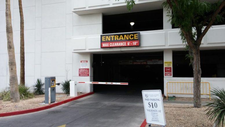 Mgm Parking Garage