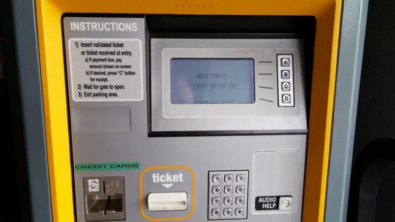 Westgate Parking Fees