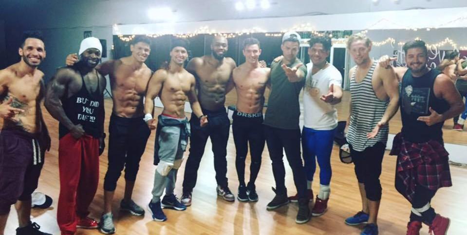 Men of the Strip cast