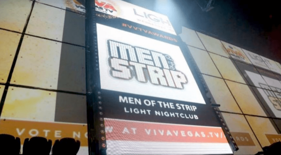 Men of the Strip Award 3