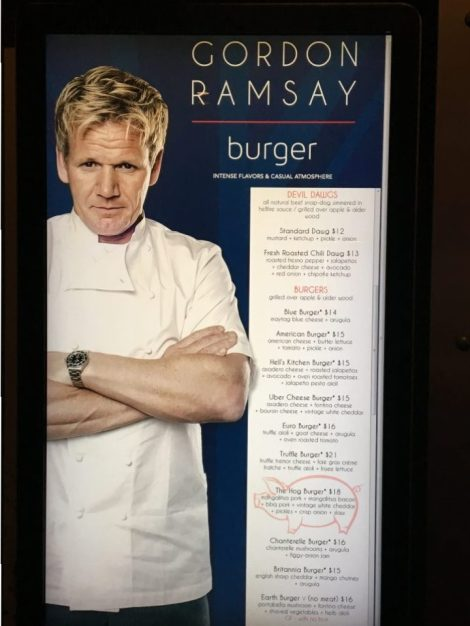 Gordon Ramsay's updated restaurant name at PH