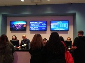 The ticket counter.