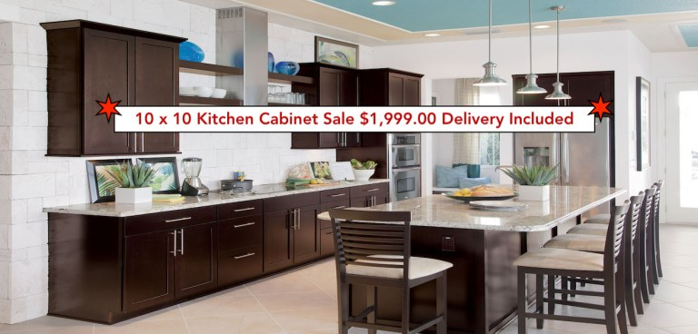 Coco Bay Kitchen Cabinets