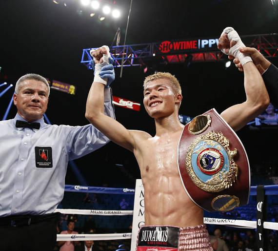 Tomoki Kameda defended the WBO Bantamweight World Championship with a brutal 7th round knockout victory over Pungluang Singyu