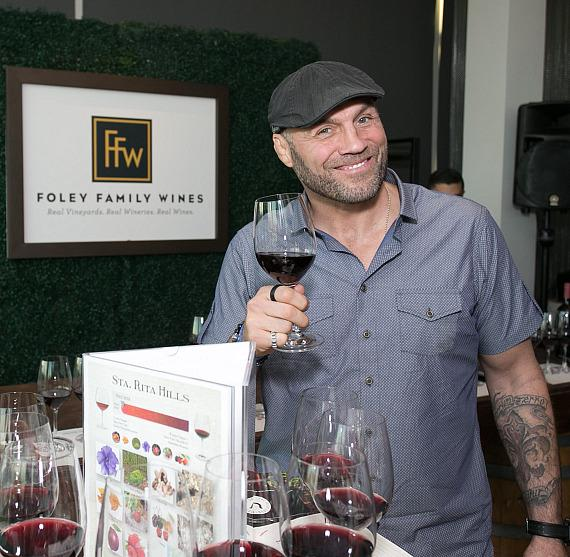 Randy Couture with Foley Family Wines