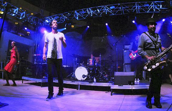 Fitz and The Tantrums at SOUNDWAVES Poolside Concert Series at Hard Rock Hotel Las Vegas