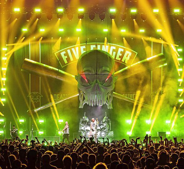 Five Finger Death Punch Kicks off U.S. Tour with Hometown Stop at The Joint Inside Hard Rock Hotel & Casino Las Vegas Nov. 1-2