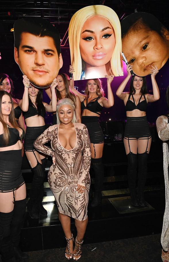 Blac Chyna Hosts First Public Appearance Since Baby Dream at 1 OAK Las Vegas