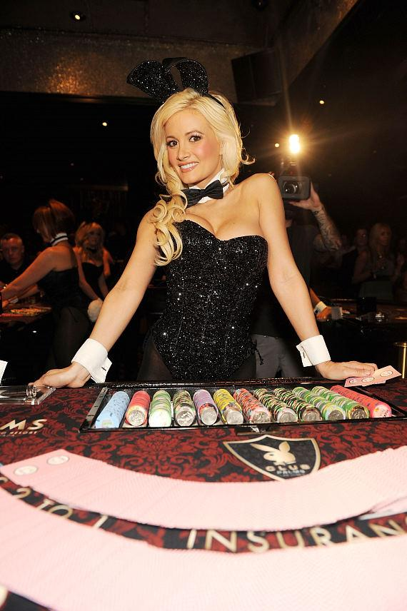 Holly Madison at Playboy Club