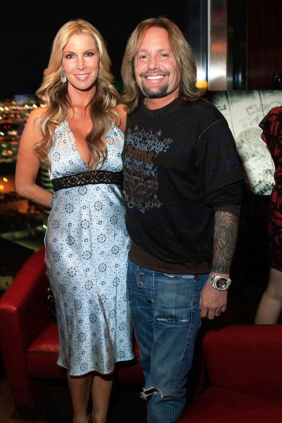 Alicia Jacobs and Vince Neil
