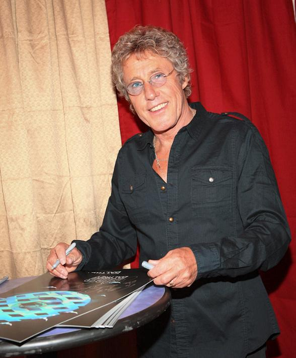 The Who's Roger Daltrey Backstage at The Joint at Hard Rock Hotel in Las Vegas