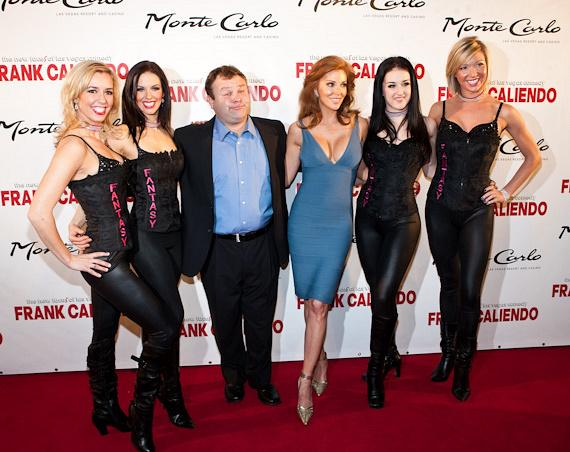 Frank Caliendo with Angelica Bridges and the Fantasy Girls
