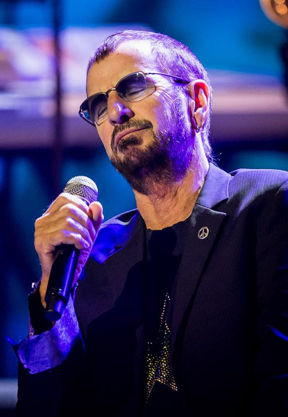 Ringo Starr performs at The Pearl inside Palms Casino Resort