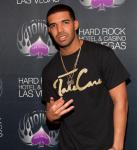 Drake backstage at The Joint at Hard Rock Hotel & Casino in Las Vegas