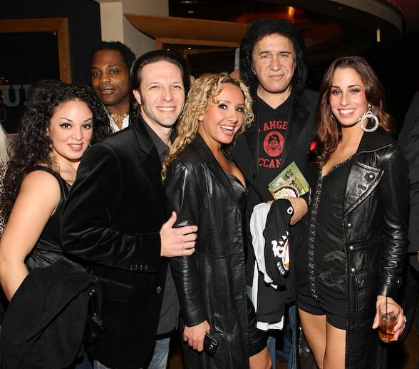Gene Simmons at the Hard Rock Hotel & Casino's Wasted Space