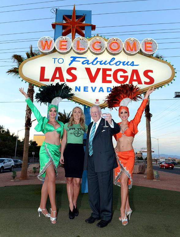 Famous 'Welcome to Fabulous Las Vegas' Sign Goes Green for St. Patrick's Day