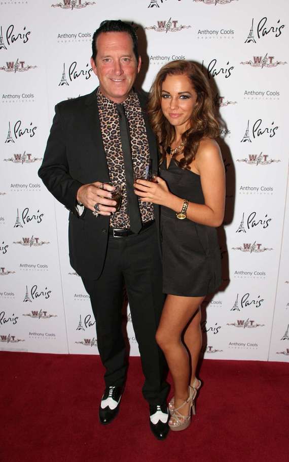 Anthony Cools with girlfriend Morea Reveen
