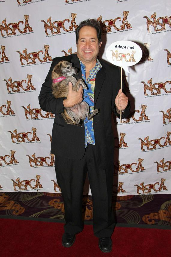 """Comedian and Laugh Factory Las Vegas co-owner Harry Basil at """"Funny Bones"""" NSPCA Benefit Show"""
