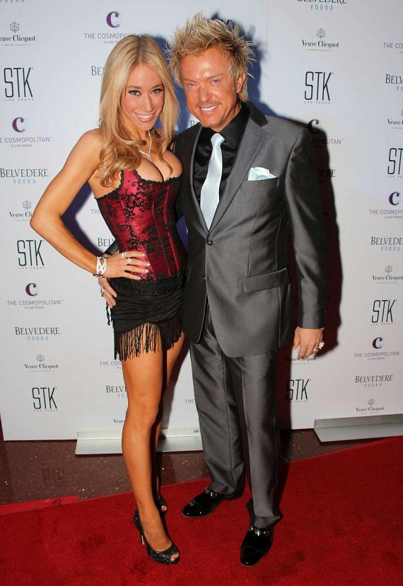 Lydia Ansel and Chris Phillilps of Zowie Bowie at STK 3-Year Anniversary