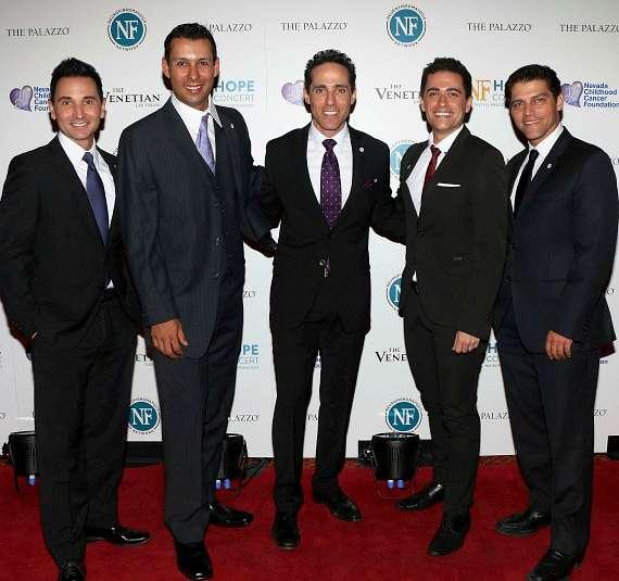 Stars of the JERSEY BOYS at the NF Hope Concert on Sunday, Oct. 19 at The Sands Showroom at The Venetian Las Vegas