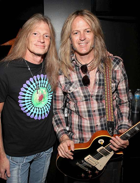 Mitch Perry and Doug Aldrich