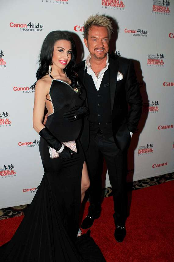 Chris Phillips of Zowie Bowie and wife Jennifer Turco