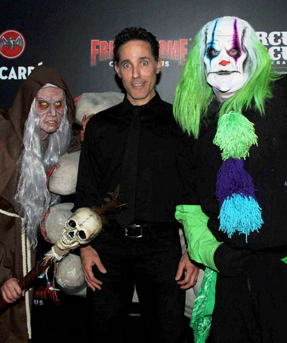 Former Jersey Boy Jeff Leibow on Fright Dome's Black Carpet
