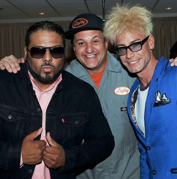 "Al B Sure, Douglas ""Lefty"" Leferovich and Murray SawChuck"